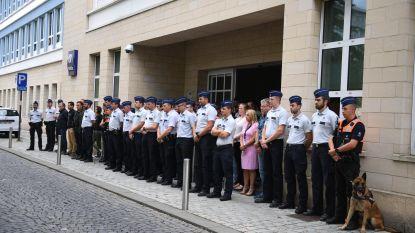 Politie herdenkt doodgeschoten agent Spa