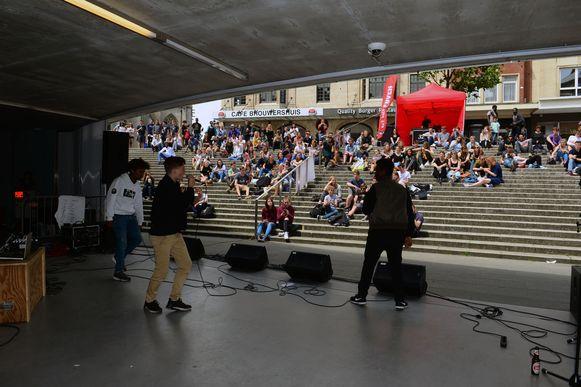 Jongerenraad Kabinet J geeft met het ludieke evenement Jammin' with Fonske advies over het cultuuraanbod voor jongeren.