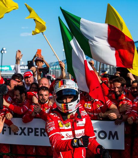 Ferrari doet met overwinning Vettel goede zaken op de beurs