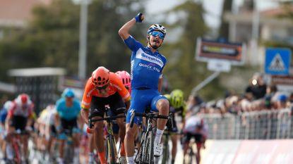 Alaphilippe schenkt Deceuninck-Quick.Step zege in Tirreno-Adriatico, Van Avermaet tweede