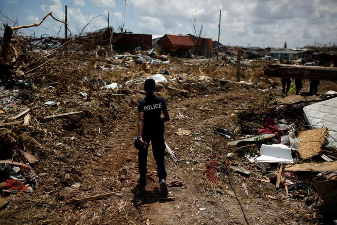 Chaos in de Bahama's na Dorian.
