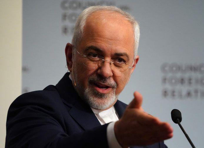 Minister van Buitenlandse Zaken Mohammad Javad Zarif.