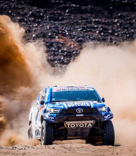 Pechduivel achtervolgt Van Loon in Dakar Rally