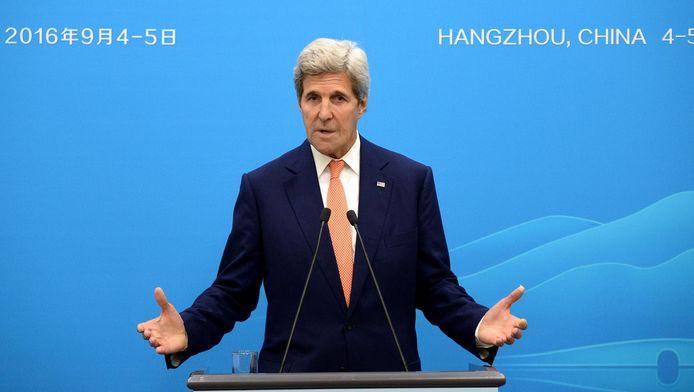 John Kerry au G20 en Chine.