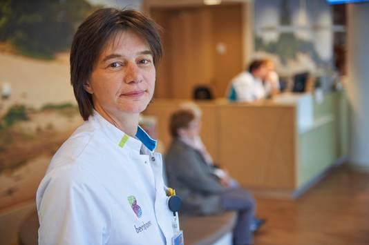 Oncoloog Chantal Lensen bij ziekenhuis Bernhoven te Uden.