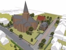 Nieuwe pastoriewoning in Stampersgat: vijf appartementen plus een parkeerkelder