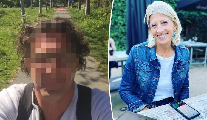 Jurgen D. gaf zich aan voor de moord op Ilse Uyttersprot. Rechts mogelijk de allerlaatste foto van haar. Ze postte die gisteren op Instagram.