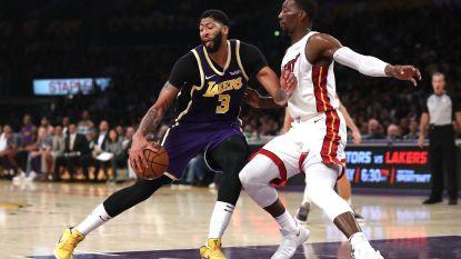 Lakers boeken zevende zege op rij in NBA