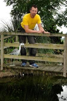 Midgetgolfen in de polder en relaxen in een theetuin