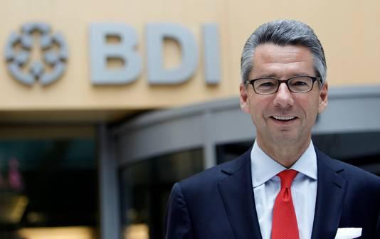 Ulrich Grillo, chef du patronat allemand