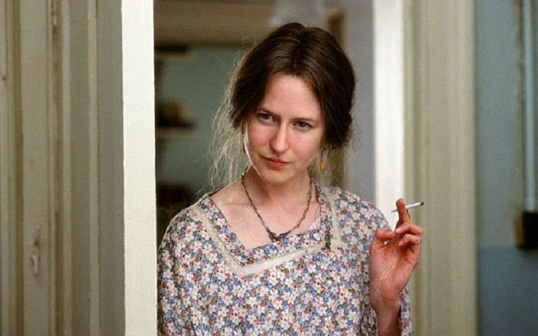 Nicole Kidman als Virginia Woolf in The Hours van Stephen Daldry. Beeld null