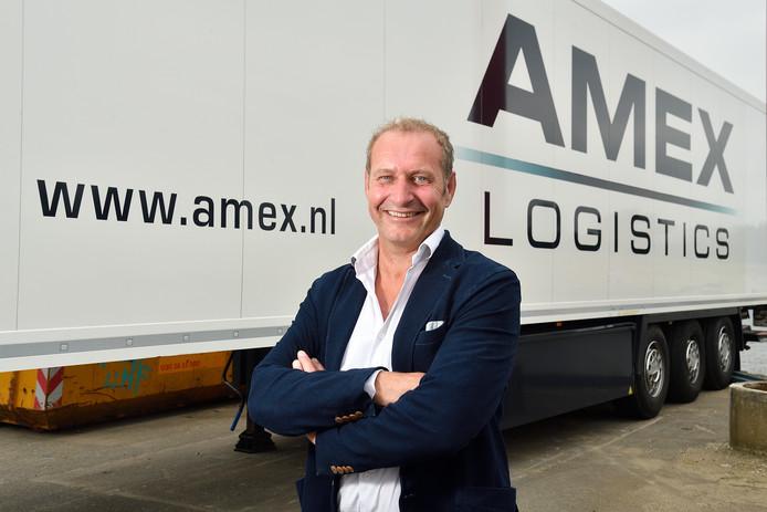 Amex Logistics werkt alleen met Nederlandse chauffeurs, aldus directeur Jaap Wisse.