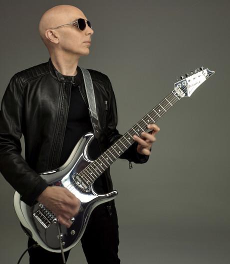 Gitaarvirtuoos Joe Satriani komt voor 'uniek' optreden naar Enschede