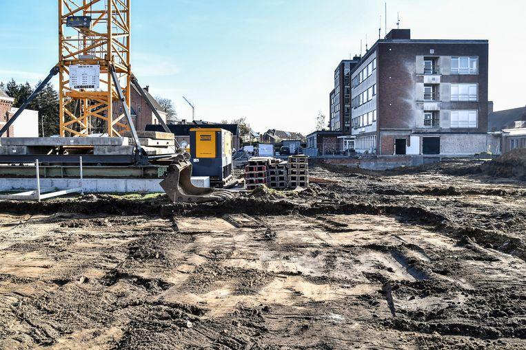 Op deze site wordt het nieuwe complex geplaatst.