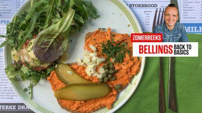 """Sterrenchef Luc Bellings keurt toast kannibaal: """"Eén van de bedrieglijkste borden in jaren: hier mag je je met reden bedot voelen"""""""