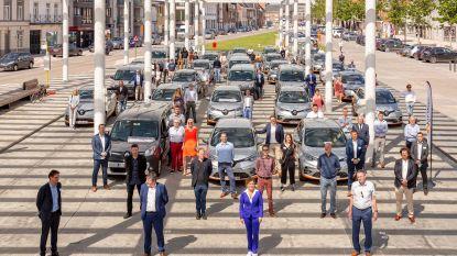 28 elektrische deelauto's in Denderstreek en Vlaamse Ardennen