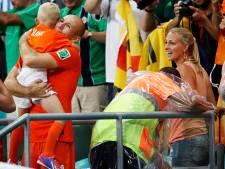 Vrouw Arjen Robben hersteld van coronavirus