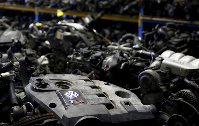 Volkswagen TDI dieselmotoren. REUTERS/Dado Ruvic/File Photo