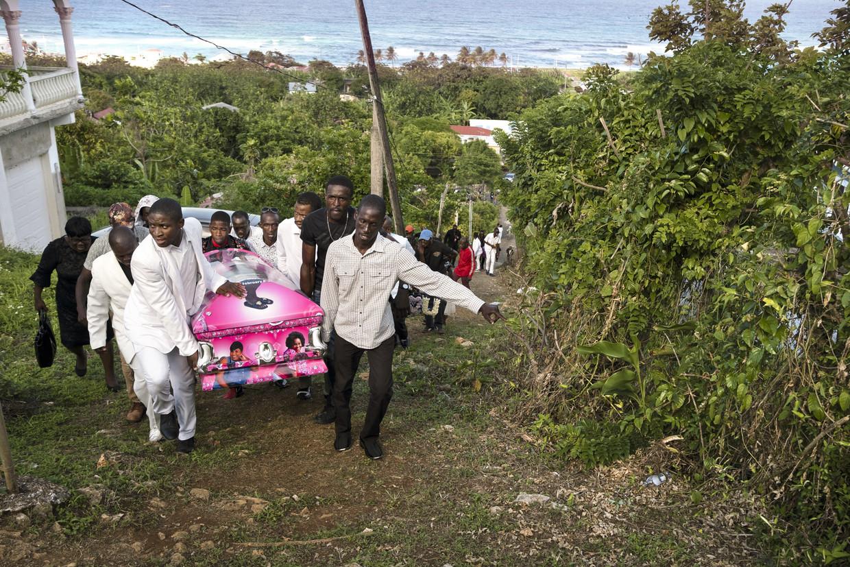 Pauline Burke-Frazer werd in mei vermoord in Jamaica, net als jaarlijks zo'n 1200 anderen in het land. Beeld TYLER HICKS/The New York Times/R