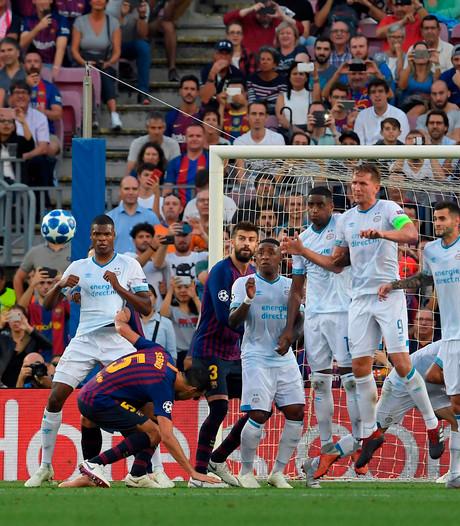 LIVE | PSV buigt na prima helft alleen voor brille van Messi