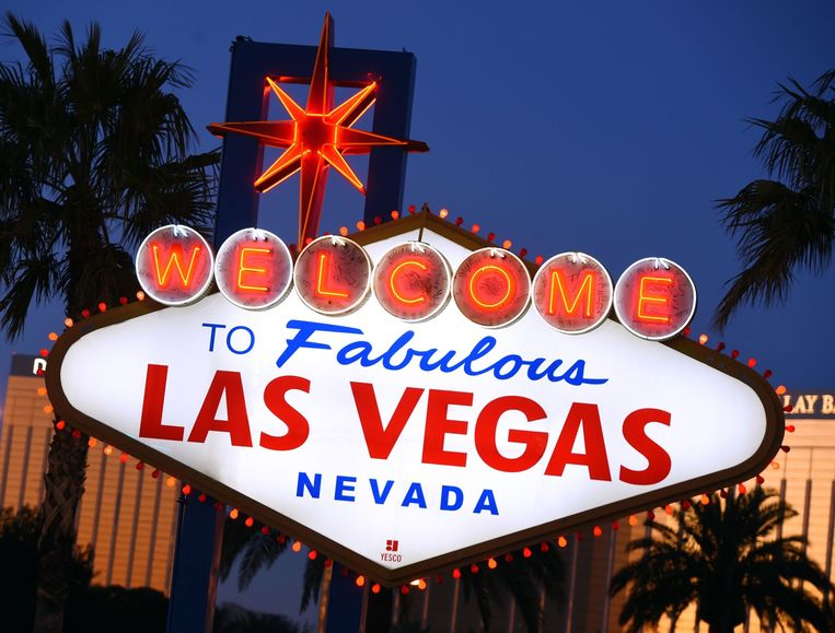 Sign Las Vegas Beeld USP