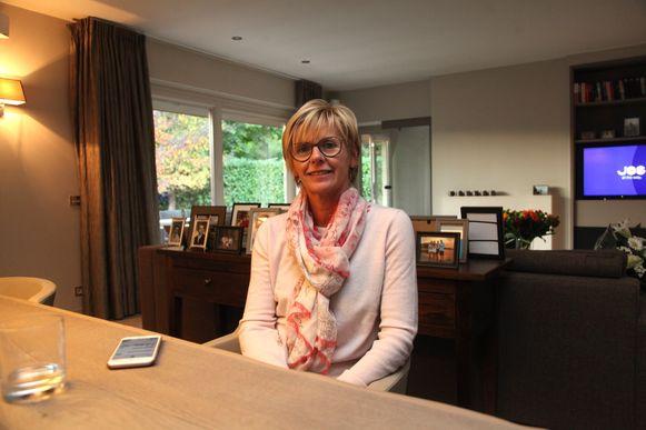 Martine Fournier staat op plaats drie voor het Vlaams parlement.