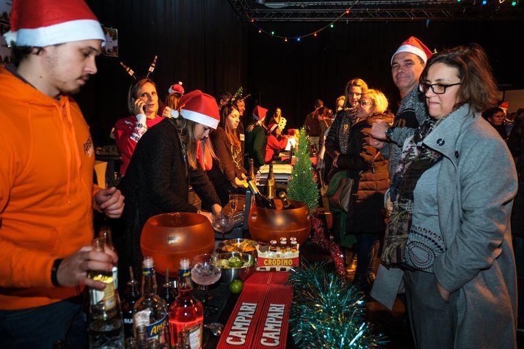 De kerstmarkt van Studio 100.