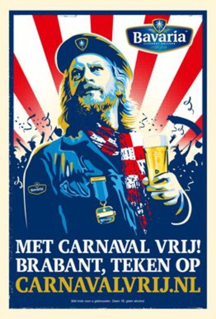 Poster met Björn van der Doelen in de hoofdrol.
