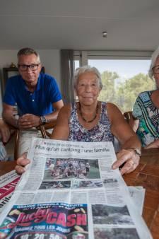 Familie uit Helmond en Laarbeek staat als vaste campinggast in Franse krant