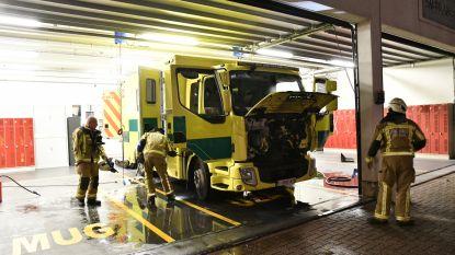 """Brand in ziekenwagen op spoedafdeling UZA: """"Werking ziekenhuis nooit in gevaar"""""""