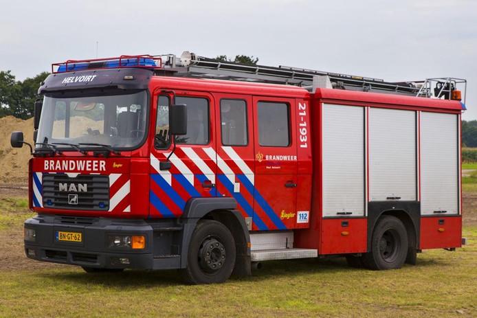De 21-1931 werd zestien jaar gebruikt door de vrijwilligers van de Helvoirtse brandweer.
