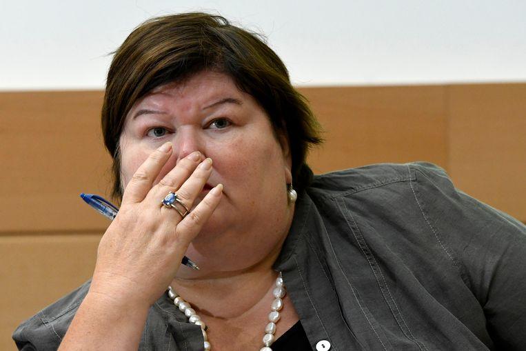 Minister van Gezondheid Maggie De Block (Open Vld).