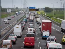 Gelders verkeershart is ziek: recordaantal files rond knooppunt Valburg