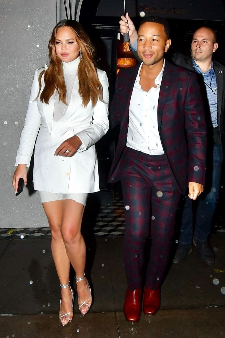 Chrissy Teigen en John Legend.