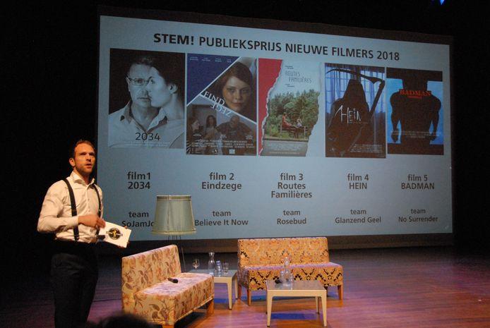 Presentator/interviewer Coen Haver