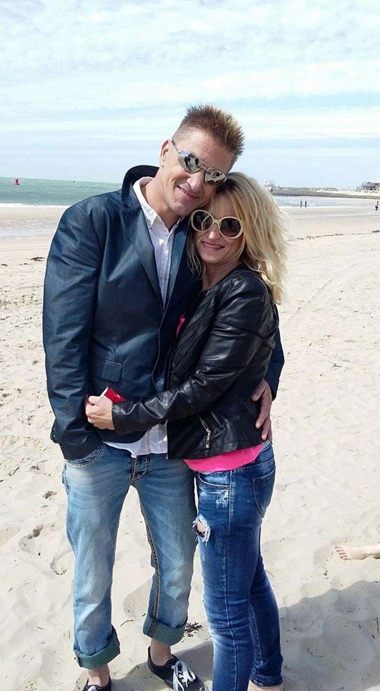 Het strand van Vlissingen is door de verhuis naar Lede iets verderaf voor Zeeuwse Ricky en partner Heidi.