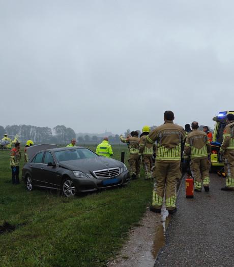 Man achter stuur onwel geworden en overleden in Ottersum