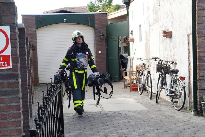 Een brandje in Breda was woensdag snel geblust.