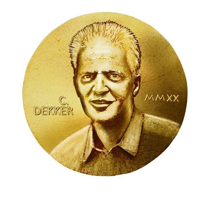 Nanofysicus Cees Dekker (TU Delft). Beeld Fotobewerking de Volkskrant