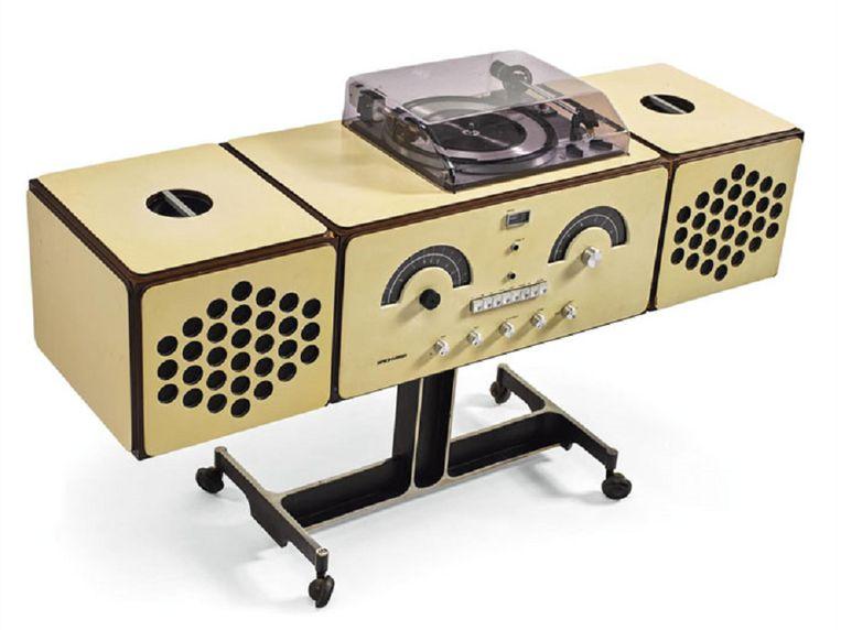 Brionvega Radiophonograph model no. RR 126, 1965 van Pier Giacomo en Achille Castiglioni Beeld Sotheby's