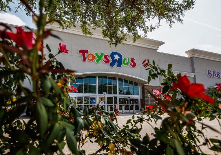 Een Toys 'R Us winkel naar een Baby's R Us winkel in Dallas.  Beeld EPA