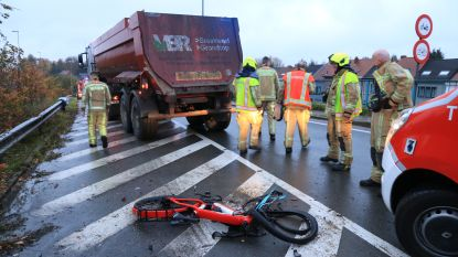 Fietser met speedbike raakt zwaargewond bij dodehoekongeval op Krijgsbaan