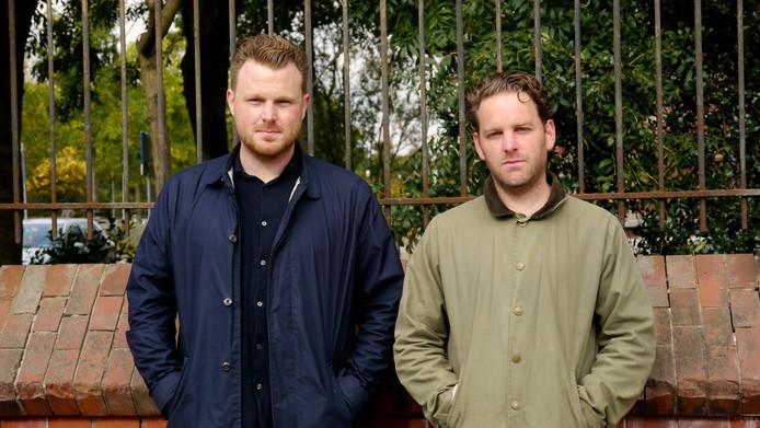 De makers van de docu en het magazine: Willem Stinissen en Styn Dirkx.