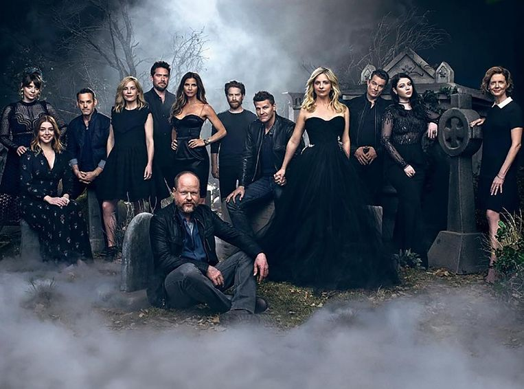 Sarah Michelle Gellar in 'Buffy, the Vampire Slayer'.