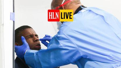 OVERZICHT. Nog steeds gemiddeld meer dan duizend besmettingen per dag, ook ziekenhuiscijfers blijven stijgen