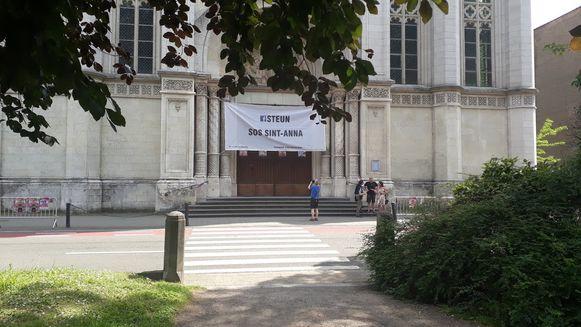 De Sint-Annakerk houdt ook tijdens de Open Kerkendagen de deuren dicht