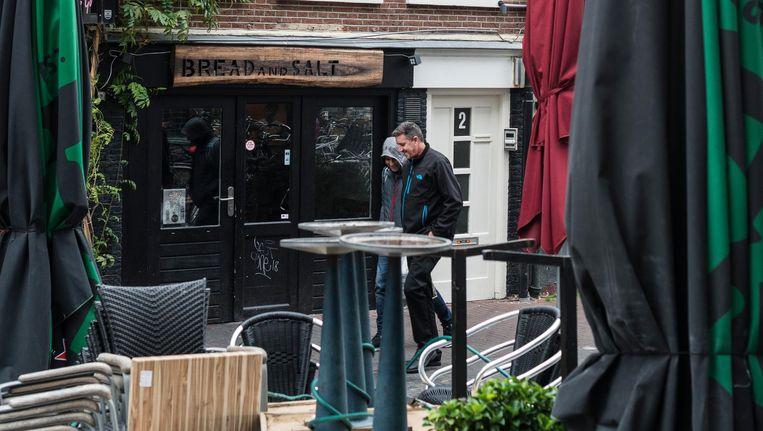 Fastfoodrestaurant Bread and Salt in de Geelvinckssteeg. Beeld Maarten Steenvoort