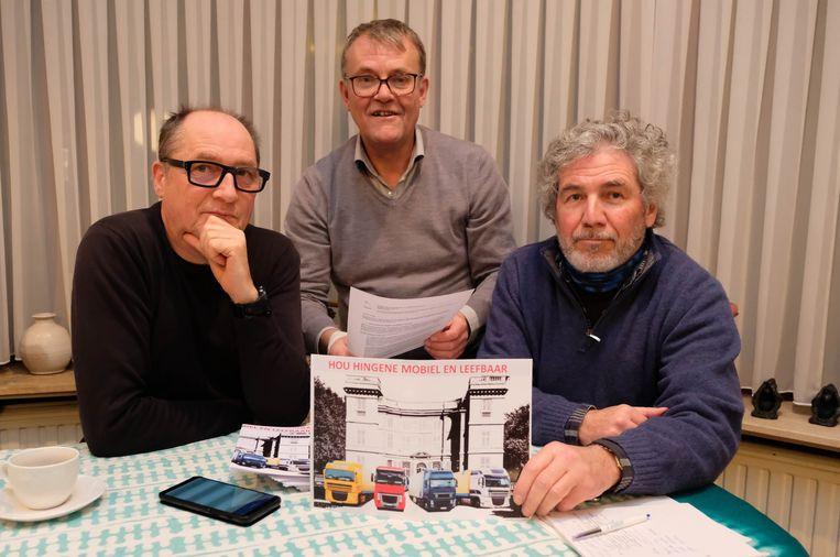 Actiegroep 'Hou Hingene mobiel en leefbaar' vecht tegen de plannen van VRD
