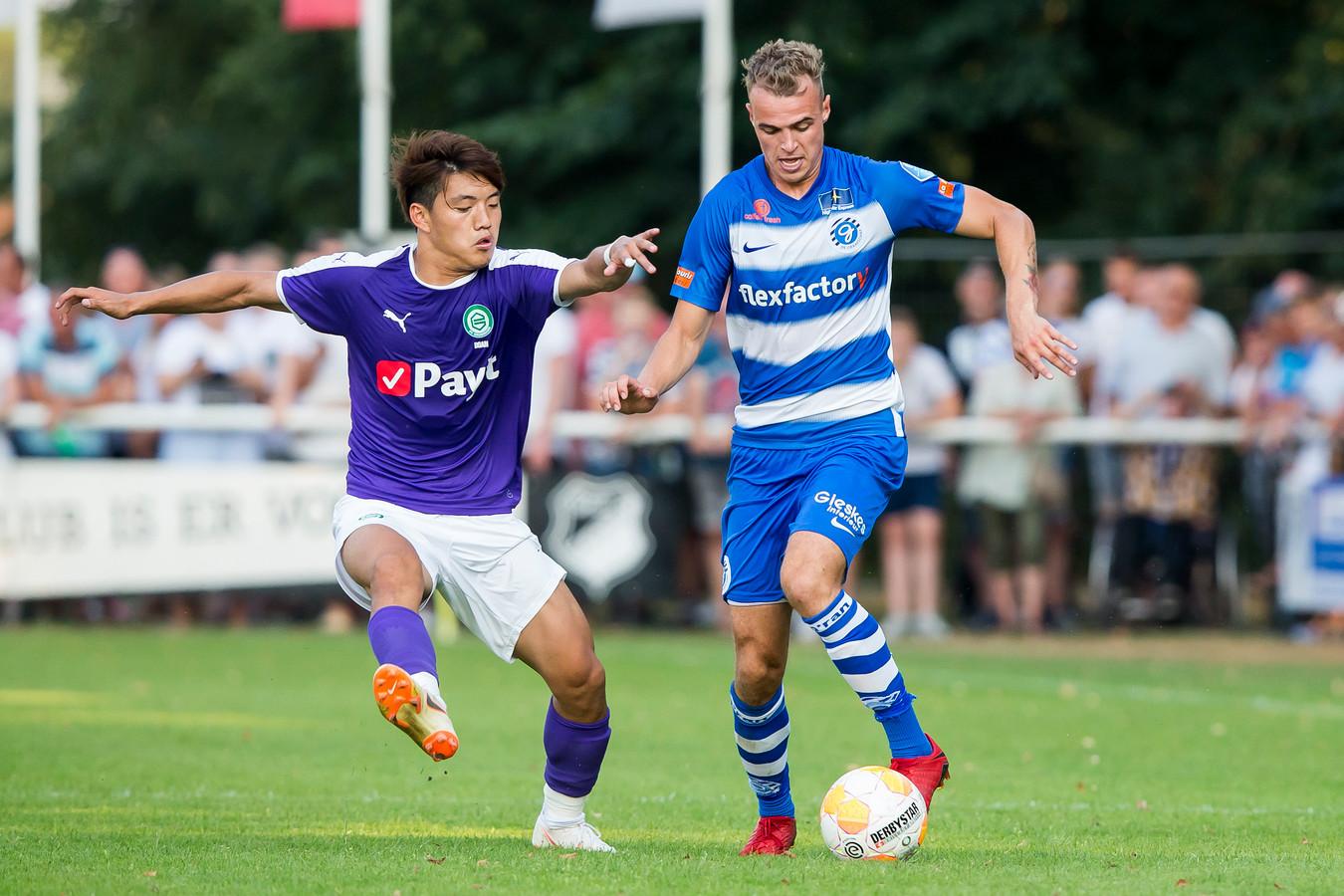 De Graafschap-verdediger Lars Nieuwpoort.