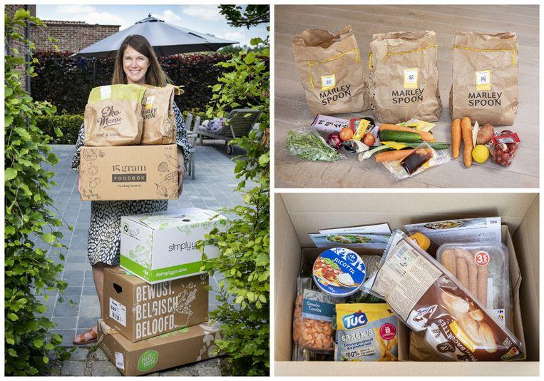 Journaliste Kristel Mauriën ging samen met haar gezin op zoek naar de lekkerste maaltijdboxformules